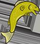 a jumping fish