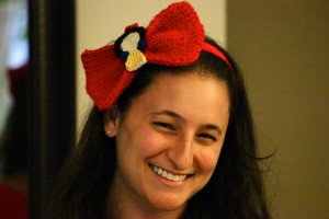 Snow White Headband Bow Profile