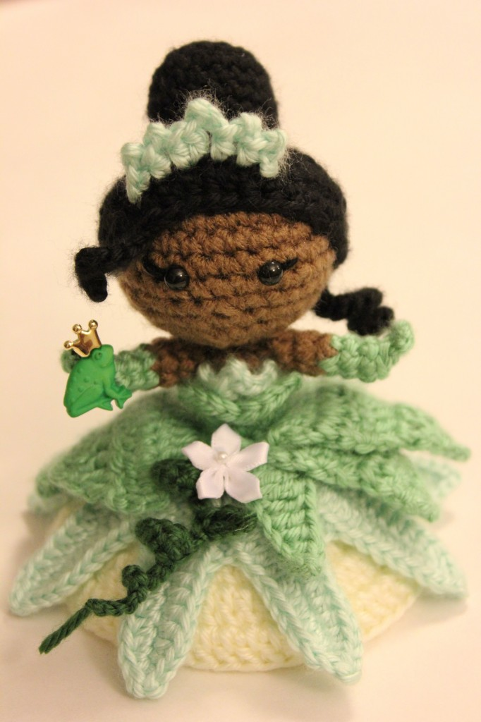 Princess and the frog Amigurumi