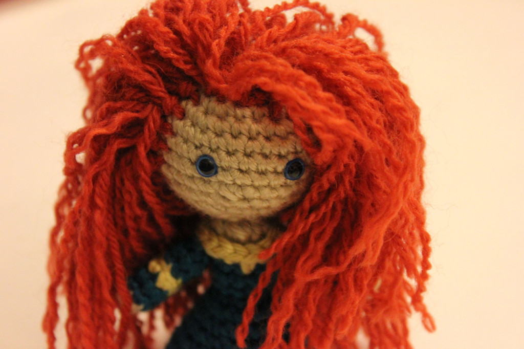 Merida Amigurumi Crochet Doll