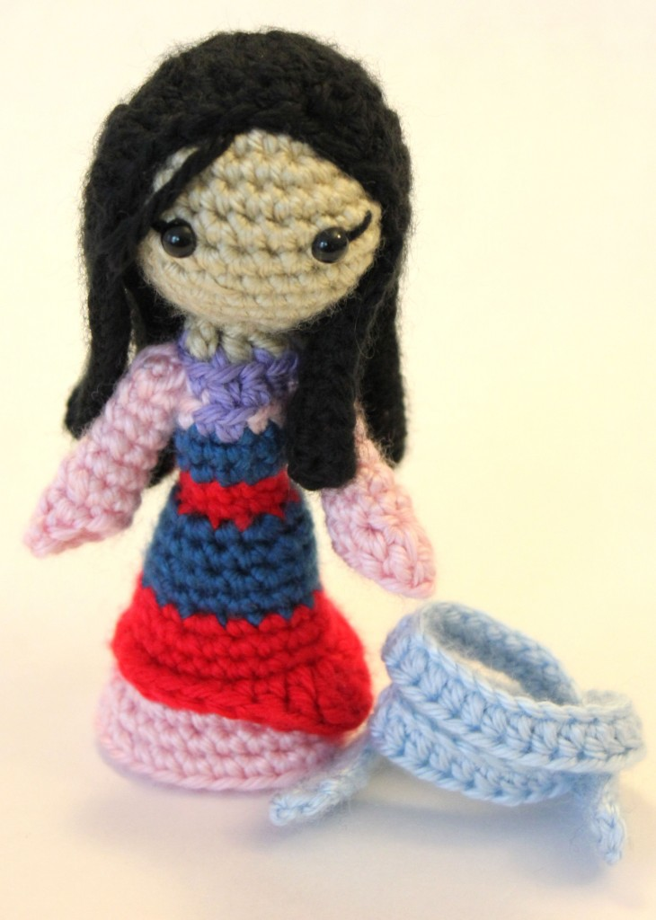 Mulan Amigurumi Crochet Pattern
