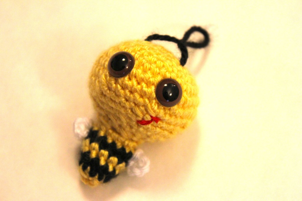 O-SO-CUTE Billy The Bumble Bee Crochet Amigurumi