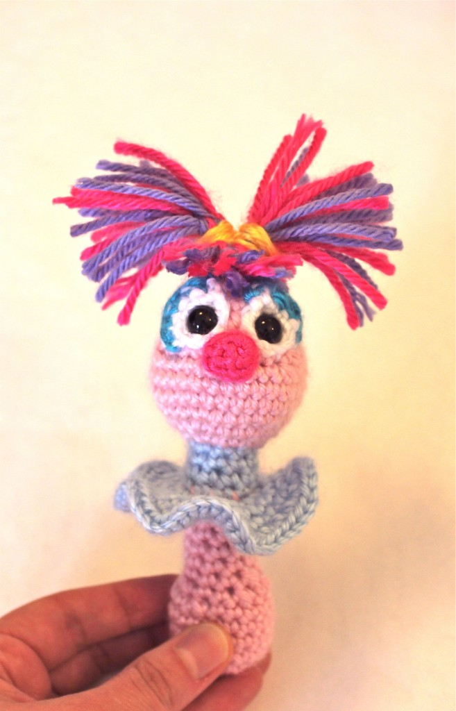 Abby Cadabby Baby Rattle Pattern