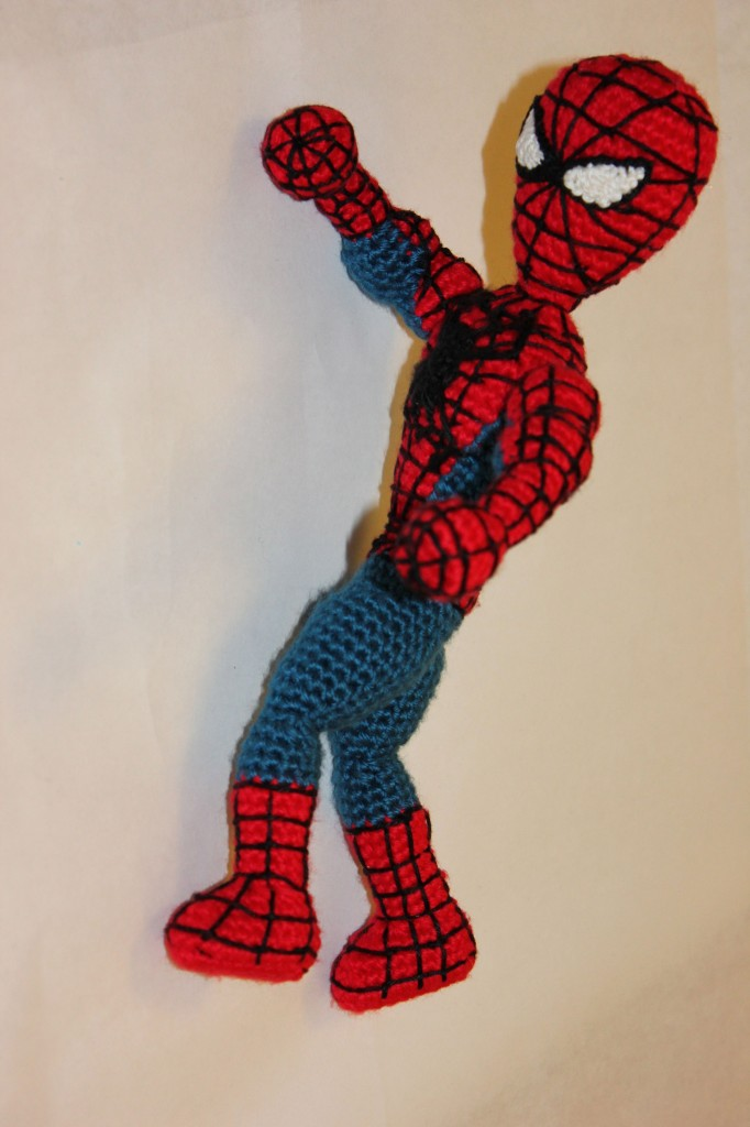 Spiderman Superhero Crochet Doll