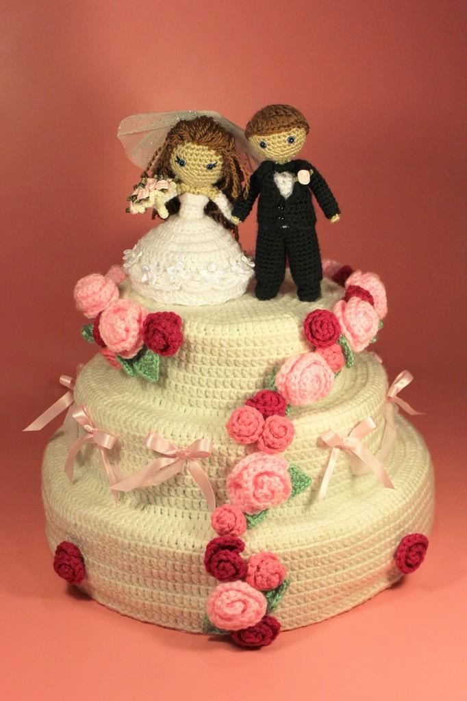 Dreamy Wedding Cake Pattern By Sahrit