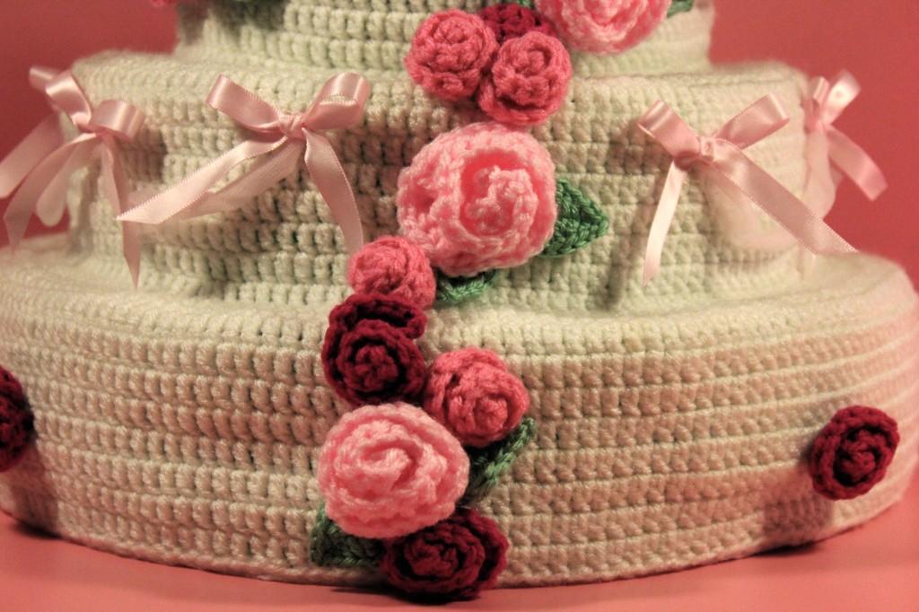 Dreamy Wedding Cake Pattern Calorie Free