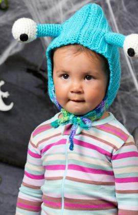 Baby Bug Hood Crochet Pattern by Sahrit