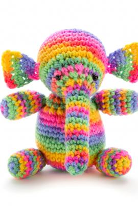 Elephant Crochet Pattern by Sahrit