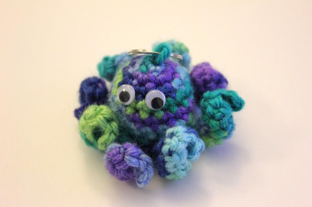 Mini Octopus Free Pattern by Sahrit