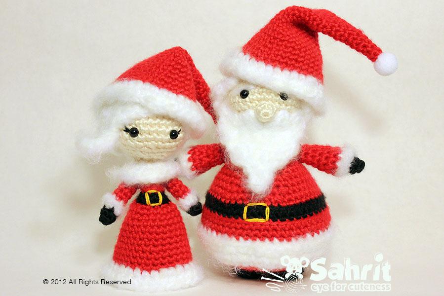 Santa Claus Crochet Pattern