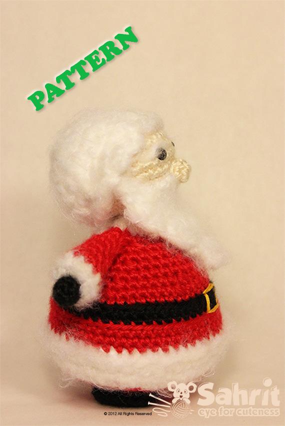 Santa Claus Amigurumi Pattern by Sahrit