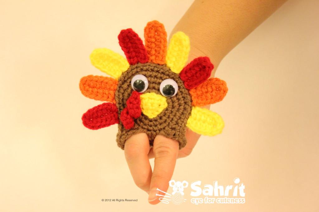 Turkey Applique Finger Free Pattern by Sahrit