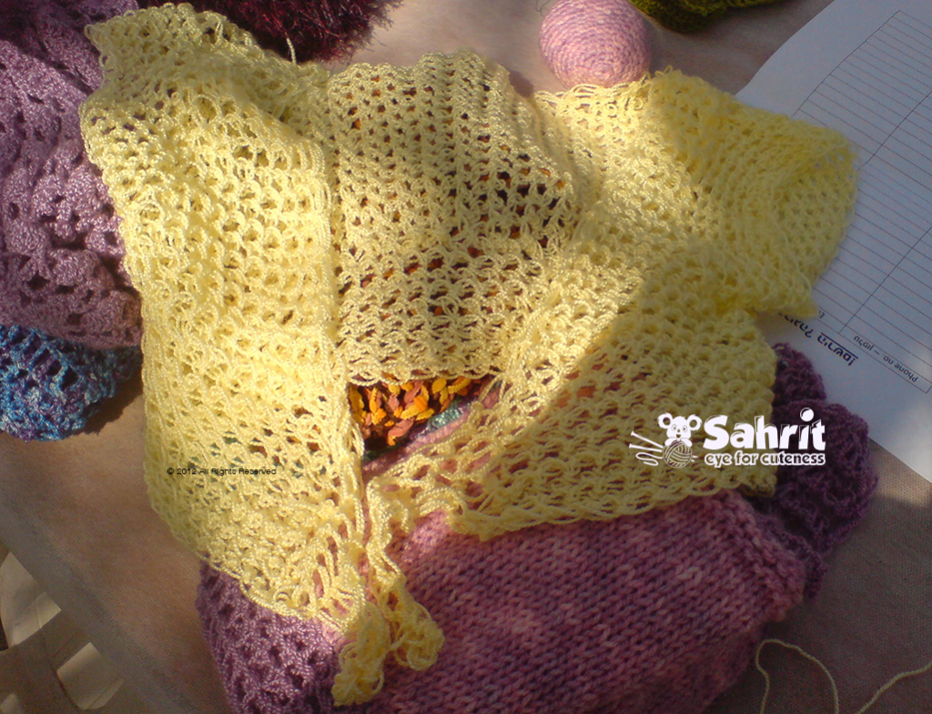 Crochet With Fingers By Sahrit