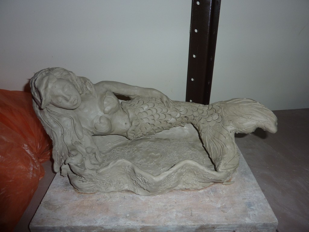 Pottery Mermaid Clay By Sahrit