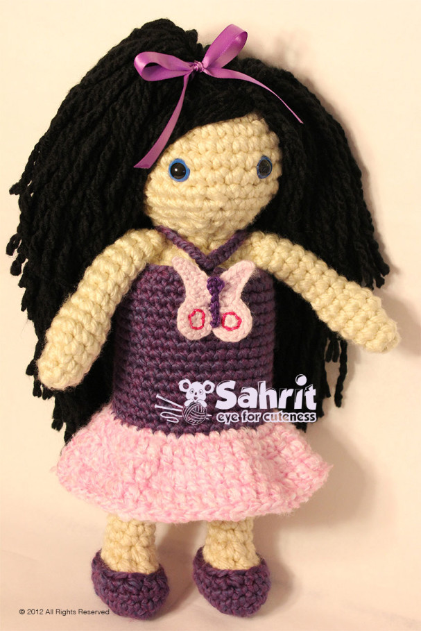 Sivani Besti Crochet Doll Pattern by Sahrit