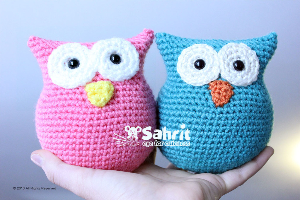 Owl O-so-cute Amigurumi Pattern by Sahrit
