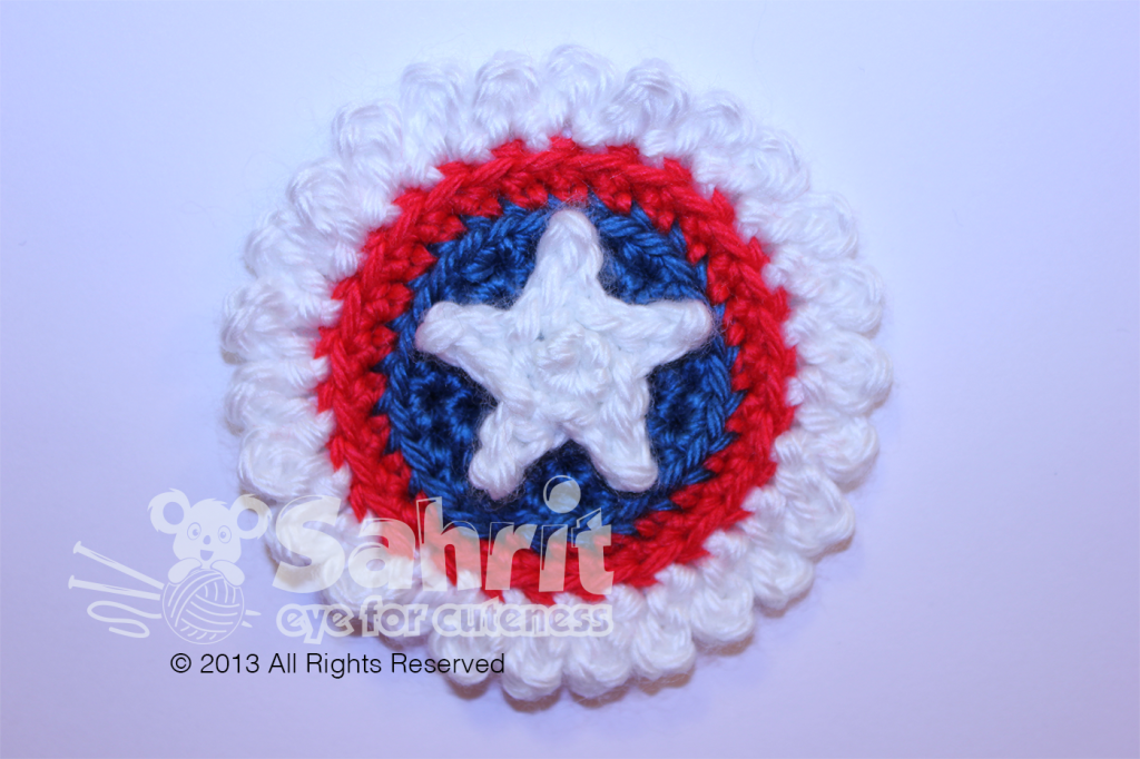 4th of July Applique Patch Ribbon