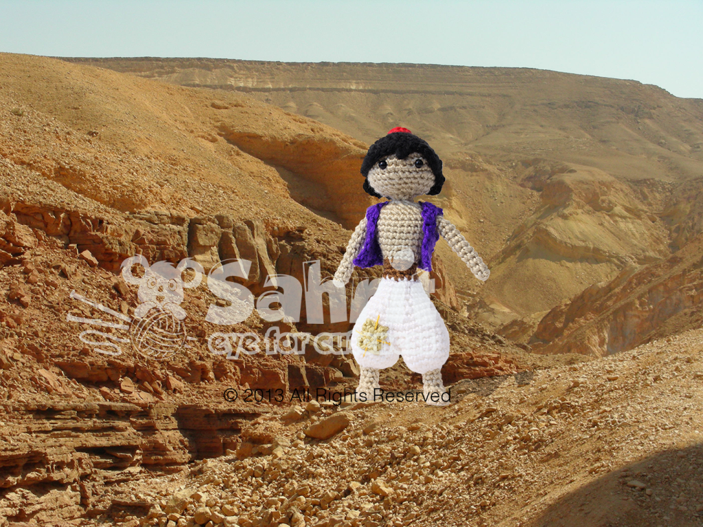 Aladdin Prince of The Desert Amigurumi Pattern by Sahrit
