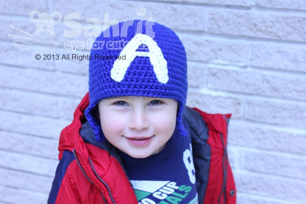 Captain America Hat Pattern by Sahrit