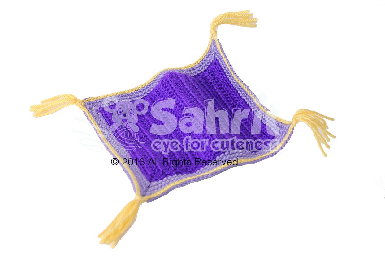 Aladdin Flying Magic Carpet Free Pattern by Sahrit ...