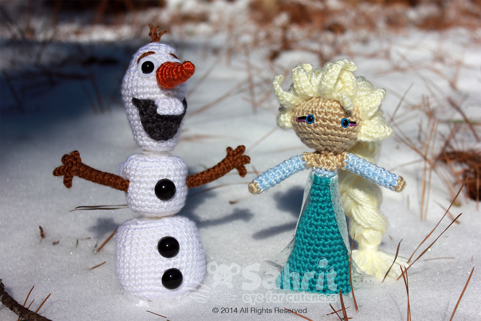 Free Anna Elsa And Olaf Crochet Hat Patterns Party ...