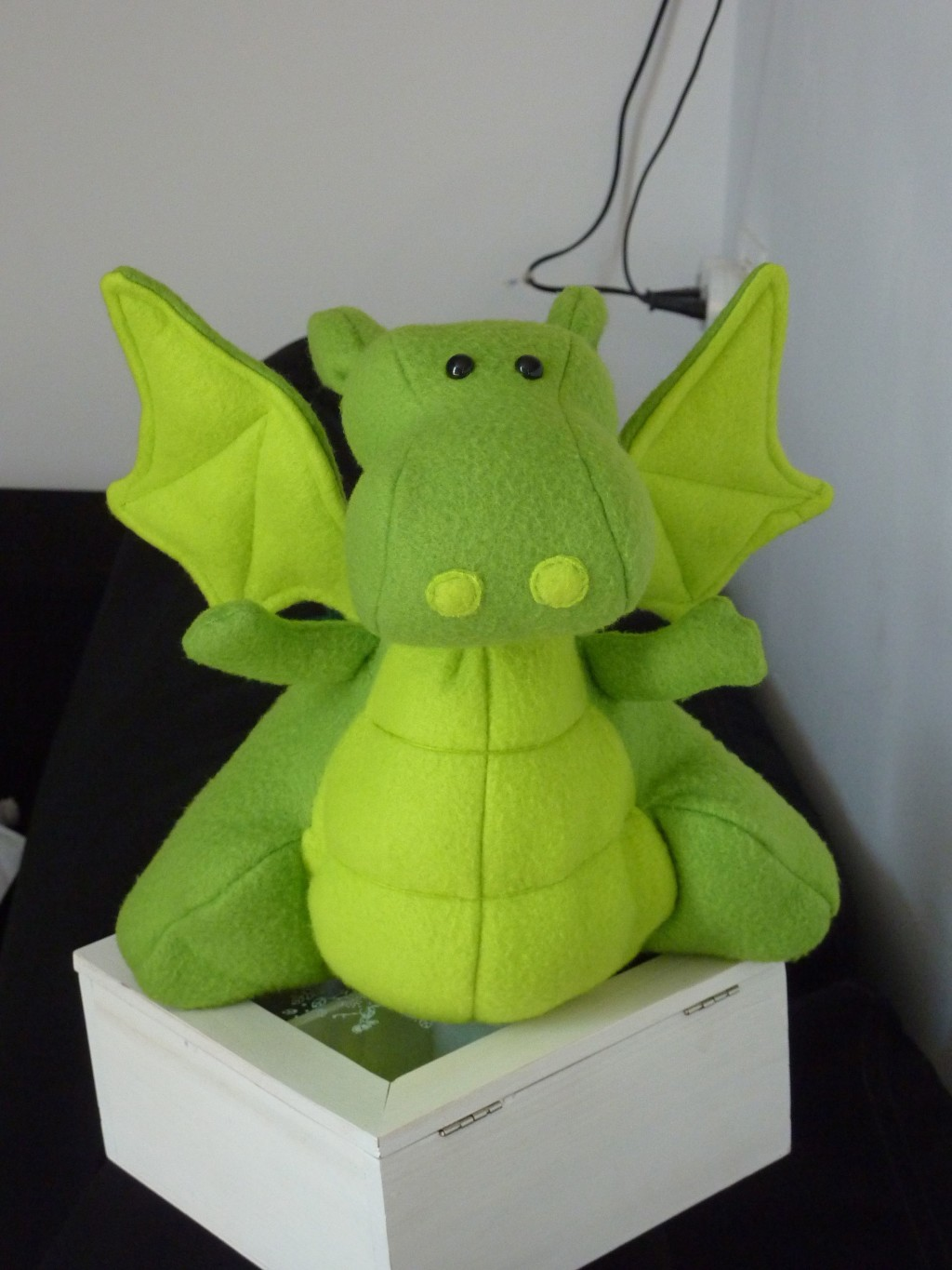 My First Sewn Stuffed Dragon doll by Sahrit