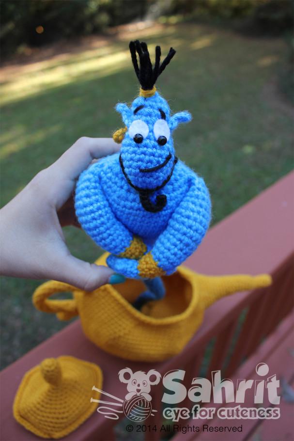 Genie pattern by Sahrit