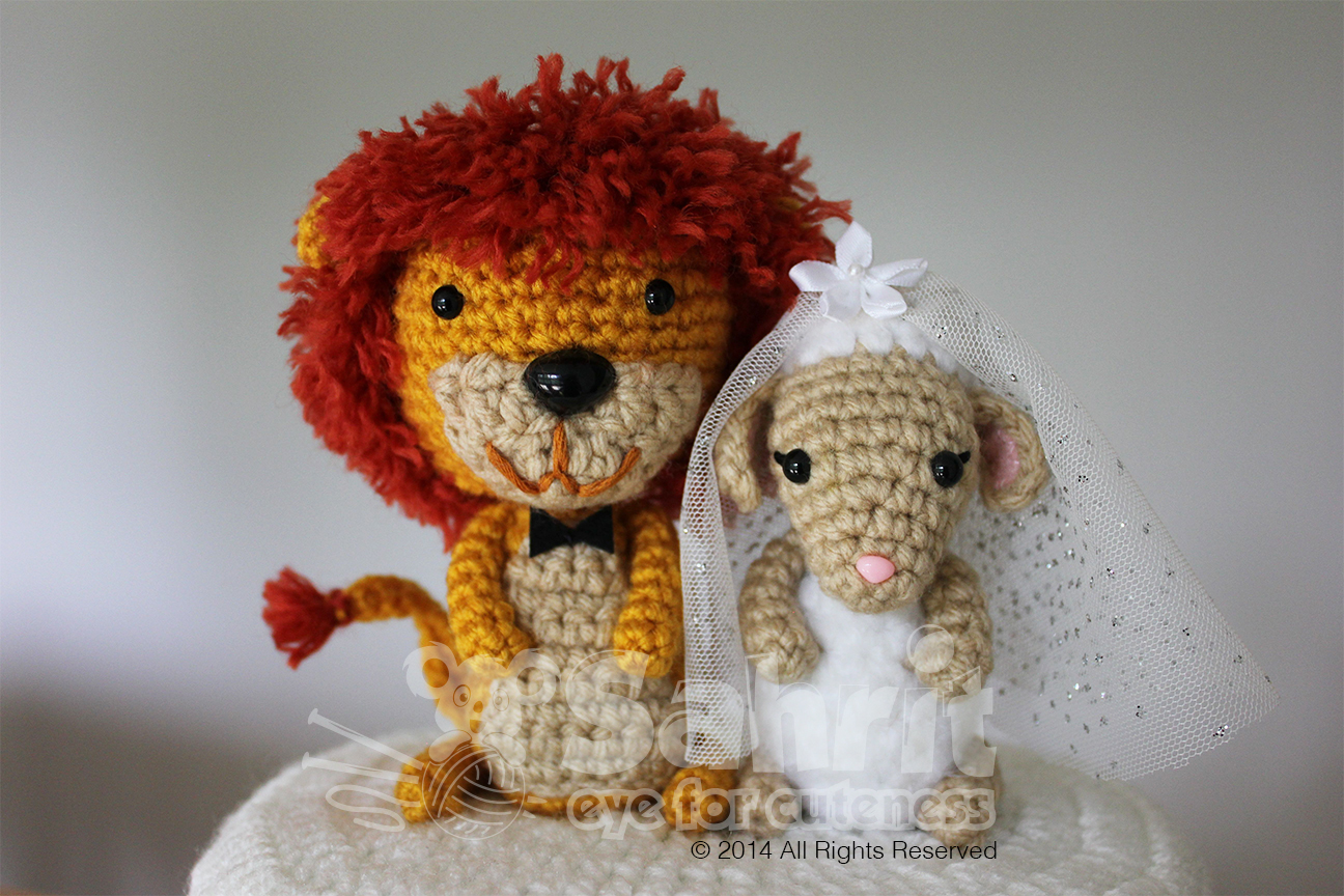 Lion And Lamb Topper Pattern by Sahrit