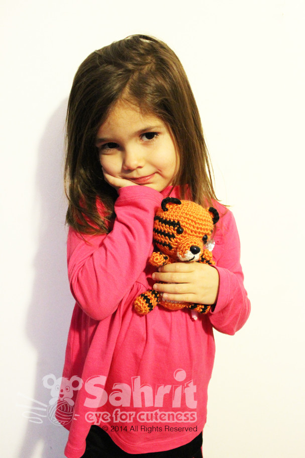 Toby the Tiger Pattern by Sahrit