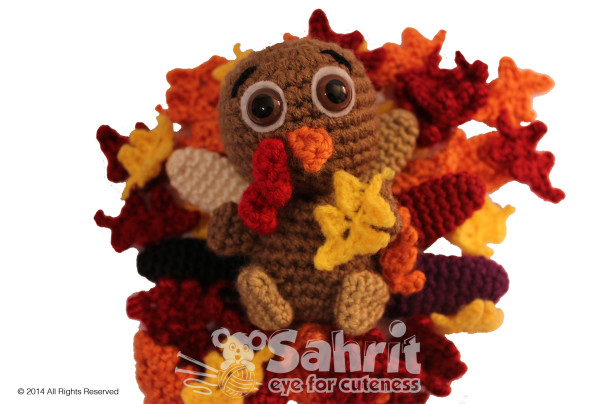 Tompkin the Turkey Pattern by Sahrit