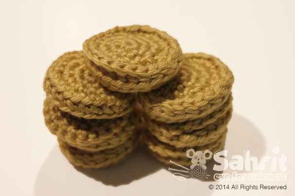 Chocolate coins Pattern by Sahrit