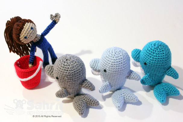 Molly the Dolphin Trainer Pattern by Sahrit