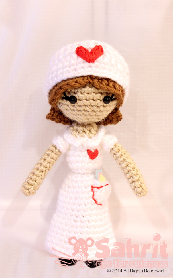 Judith the Nurse Pattern by Sahrit