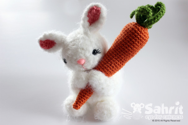 Bubbles the Bunny Pattern by Sahrit