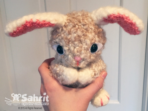 Pearls the Bunny Pattern by Sahrit