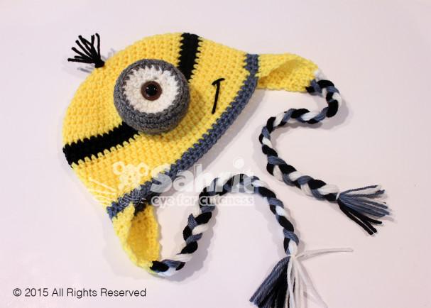 Minion Hat Pattern by Sahrit