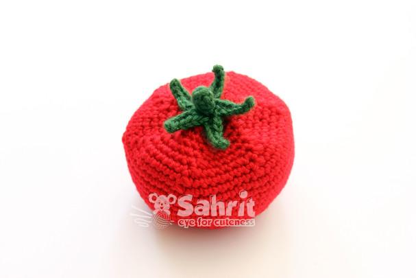 Tomato Veggie Play Toy Pattern by Sahrit
