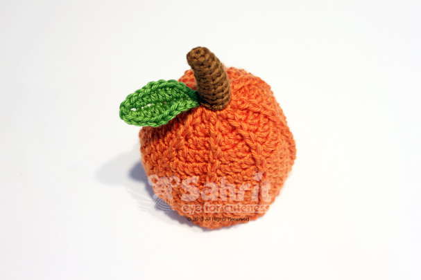 Pumpkin Hat Pattern by Sahrit