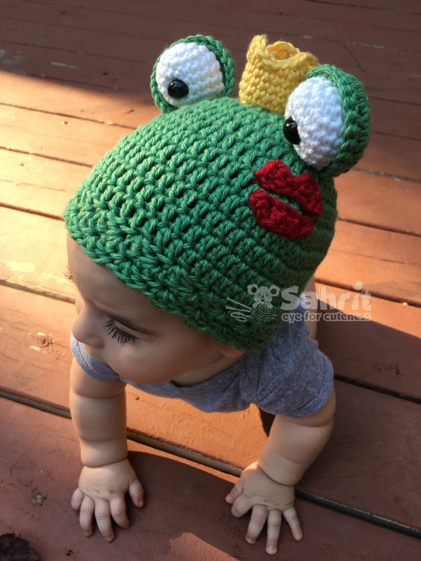 Frog Hat Pattern by Sahrit
