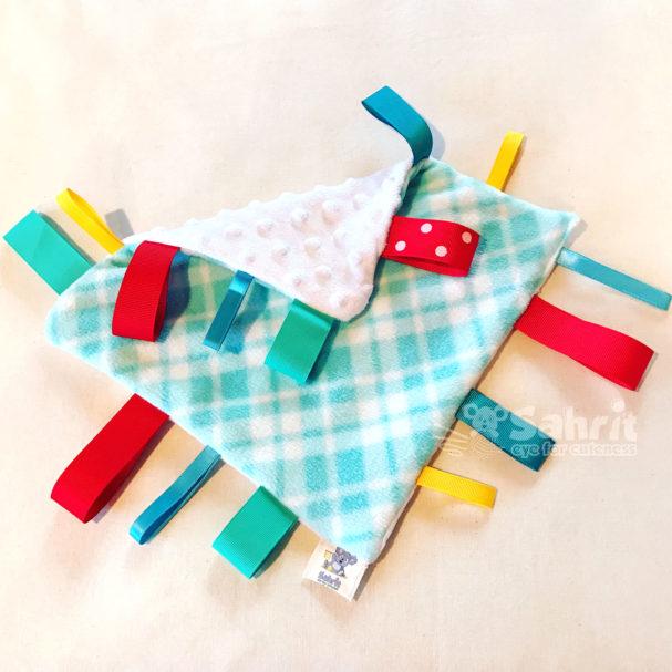 Taggie Blanket Pattern by Sahrit