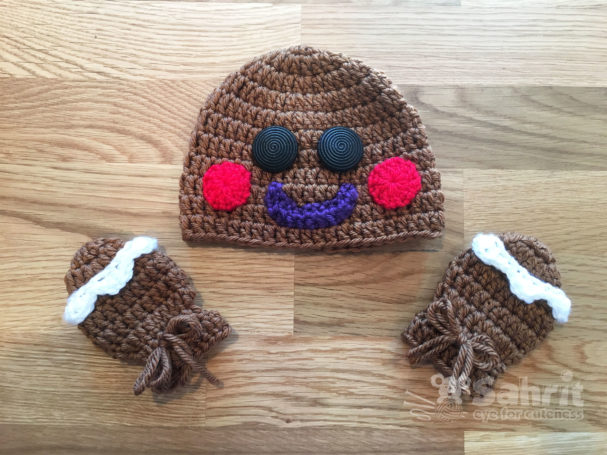 Gingerbread Man Pattern by Sahrit