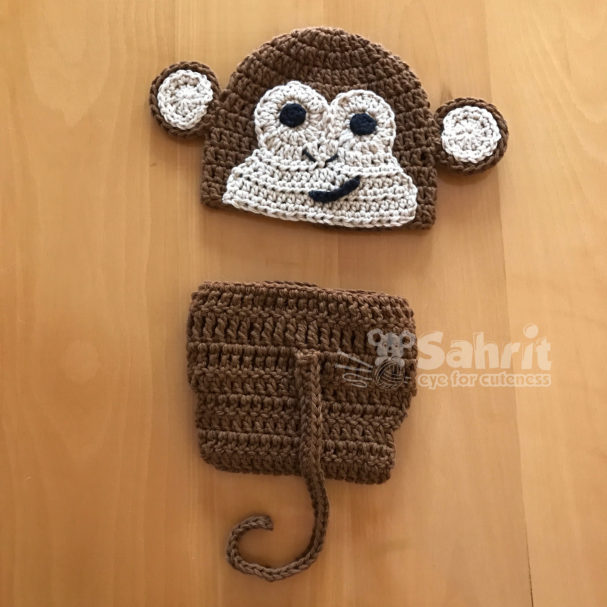 Monkey set Pattern by Sahrit