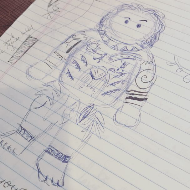 Maui Sketch by Sahrit
