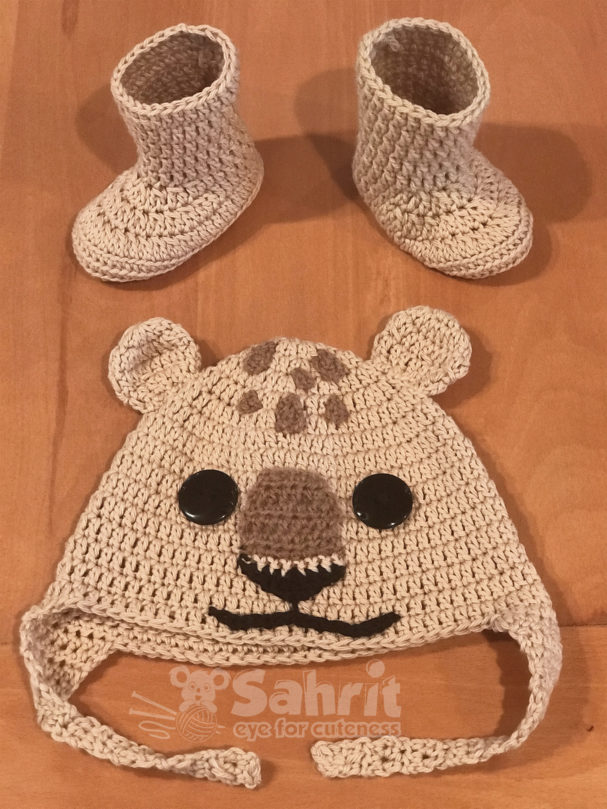 Lion cub pattern by Sahrit